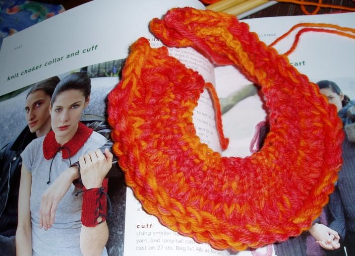 хомуты вязанные - Выкройки одежды для детей и взрослых.